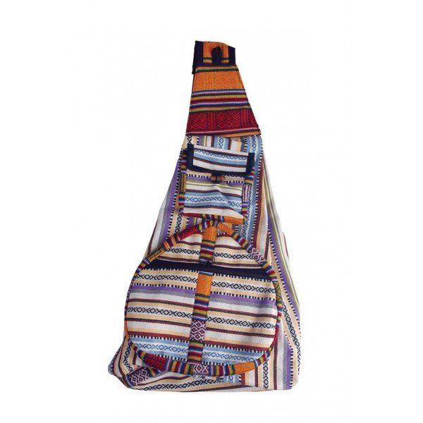 Gheri Cotton Cross Body Backpack | Rad Hippie