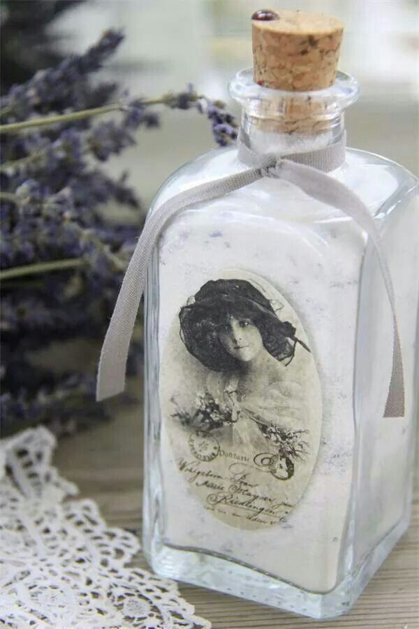 Lavender sachet.