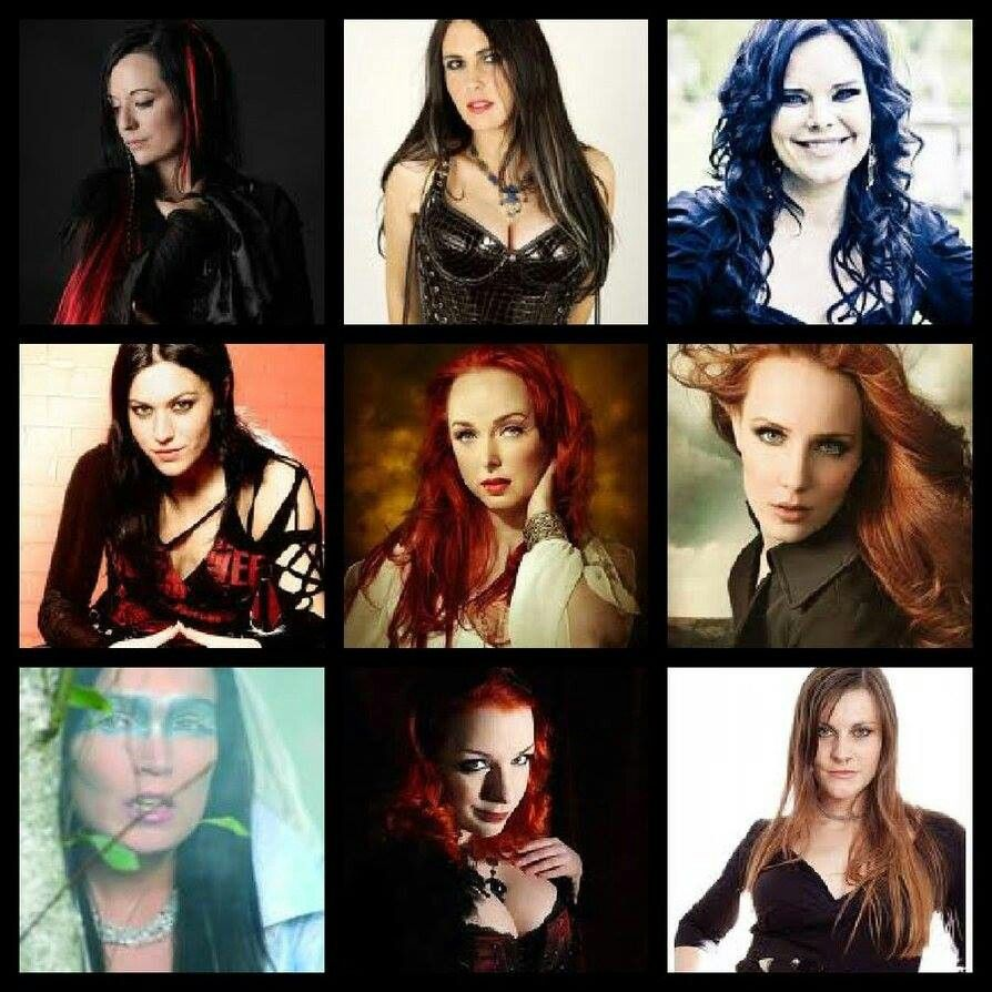 Female Metal Singers Music Artists Symphonic Metal Hard Rock