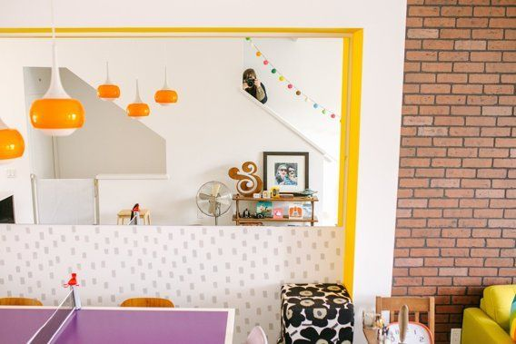 House Tour: A Colorful Canadian Townhouse | Apartment Therapy