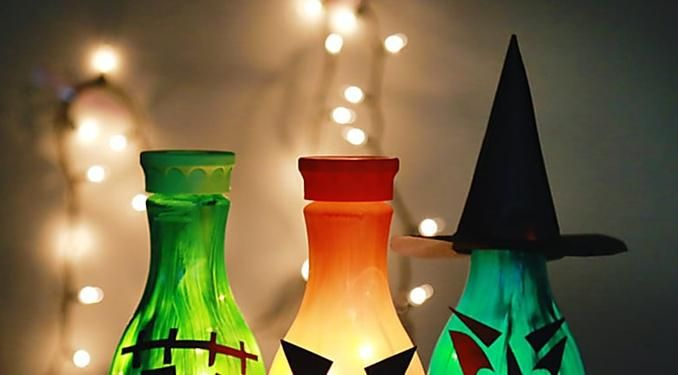 11 Recycled Halloween Crafts Spooktacular Recycled Crafts for - cool halloween decorations you can make