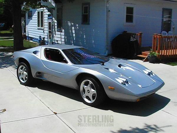 Sterling Kit Car With Modified Light Pods Kit Cars And Custom