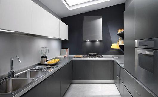 10 Fotos de Cocinas Grises | Ideas para decorar, diseñar y mejorar ...