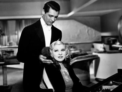 Cary Grant and Mae West in I'm No Angel c.1933