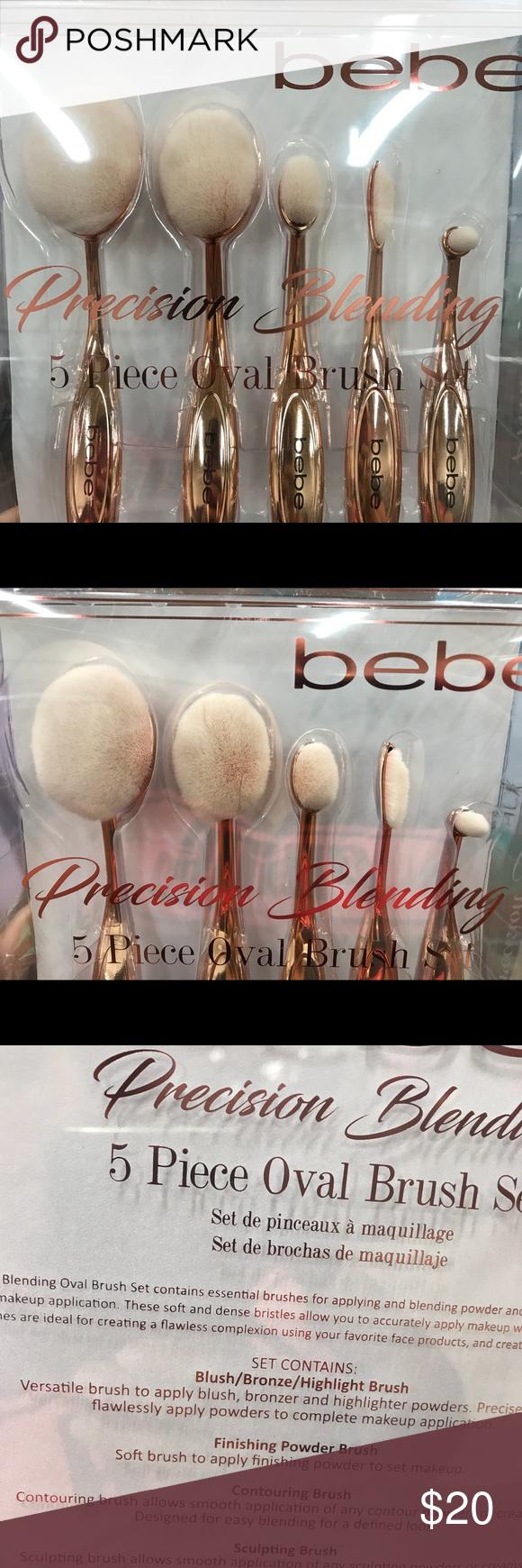 New! Bebe Make up bushes 5 pc Set NWT (With images) Bebe