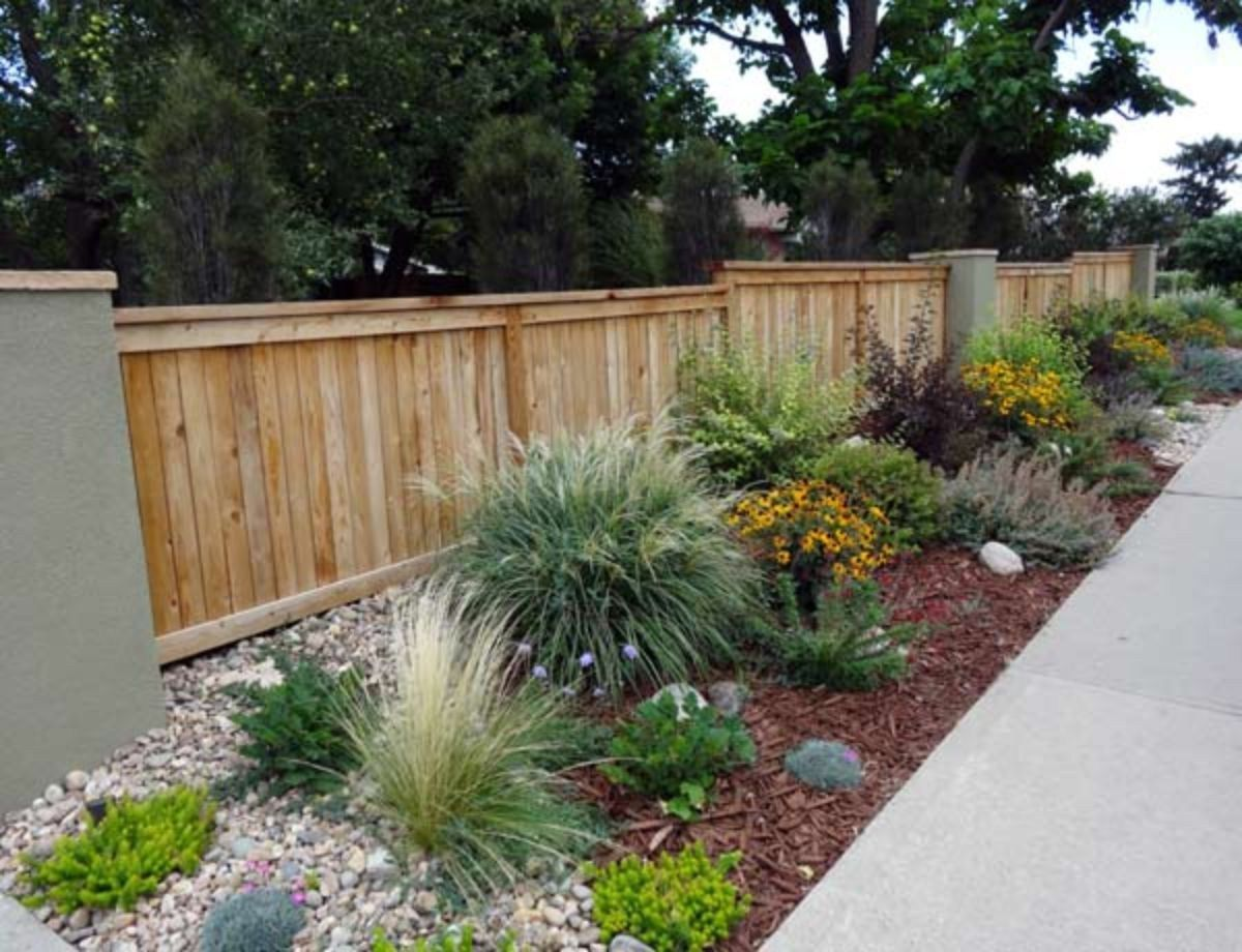 Stunning fence ideas for back yard and