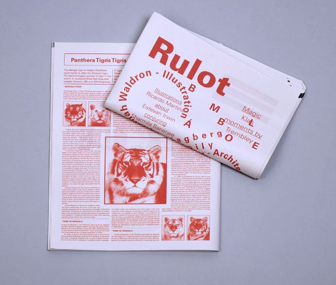 Print design // Rulot - Circole Magazine, by Virgínia Pol Rulot is published quarterly in English, Catalan and Spanish. Its objective is to divulge and promote the circus to grow the profession and encourage it's presence in culture and society.