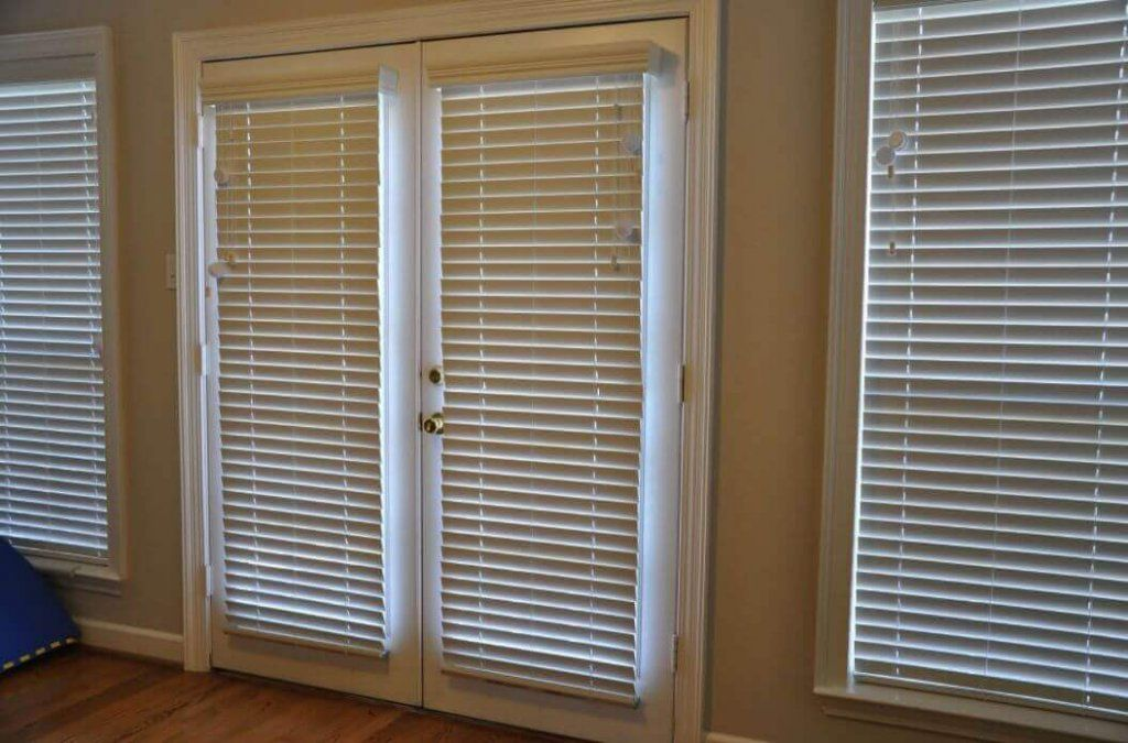 27 Best Planning Window Treatments For French Doors Blinds