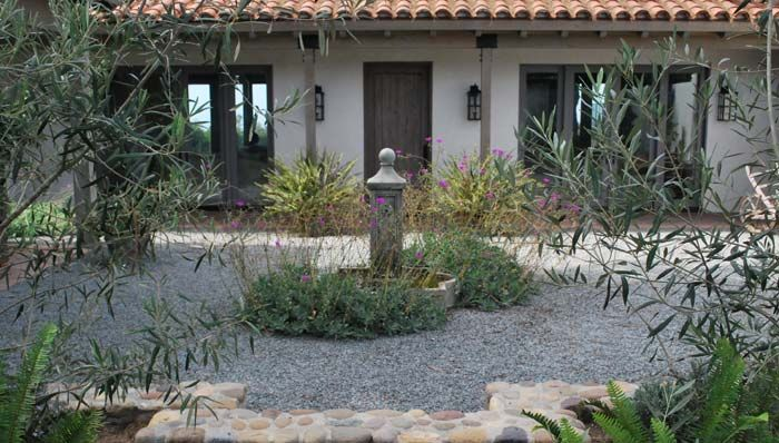 No water landscaping ideas southern california gardening for Landscaping front yard without grass