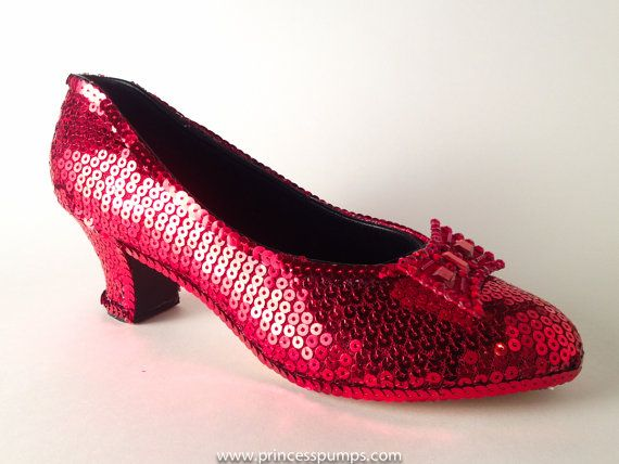 Image result for Red Sequin French High Heels