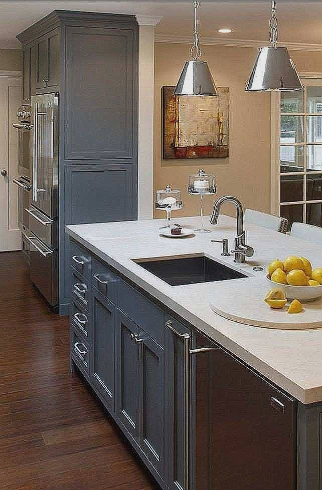 Stunning Repainting Kitchen Cabinets | Different color ...