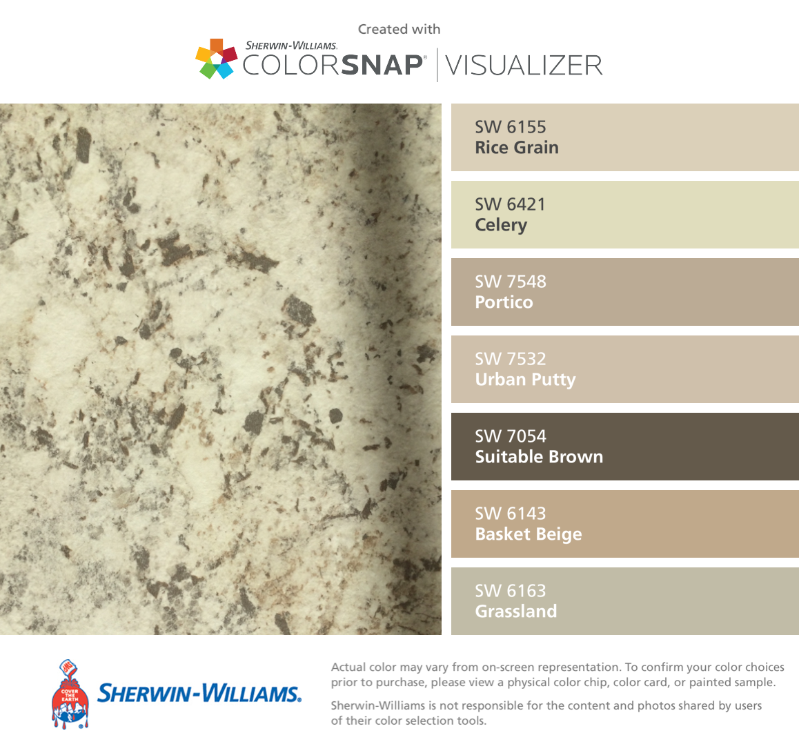 Sherwin williams basket beige photos - I Found These Colors With Colorsnap Visualizer For Iphone By Sherwin Williams Rice With Basket Beige Sherwin Williams