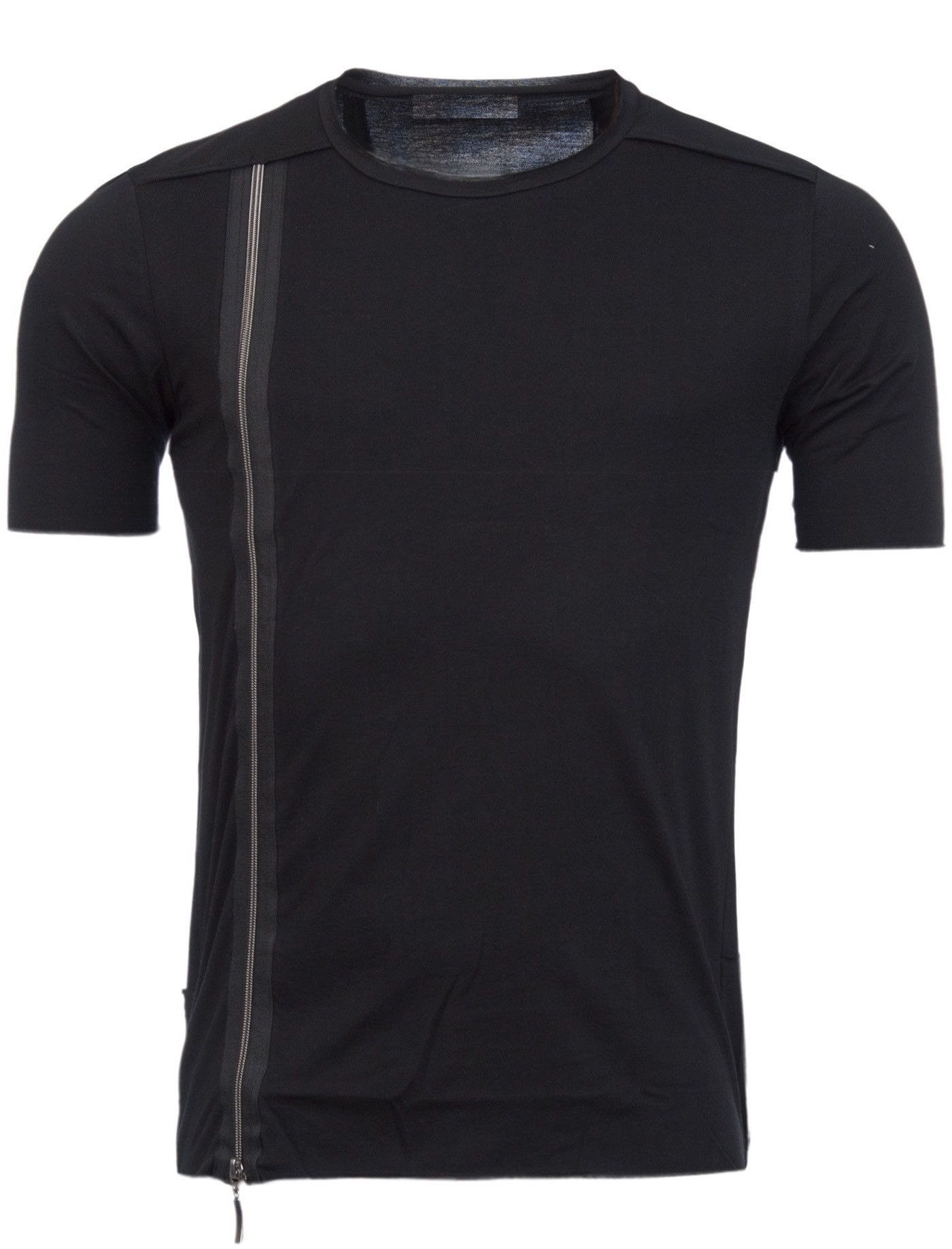 Black t shirt with zipper - Black T Shirt With Zipper 49