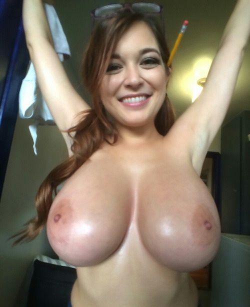 Hot big boobs tank top