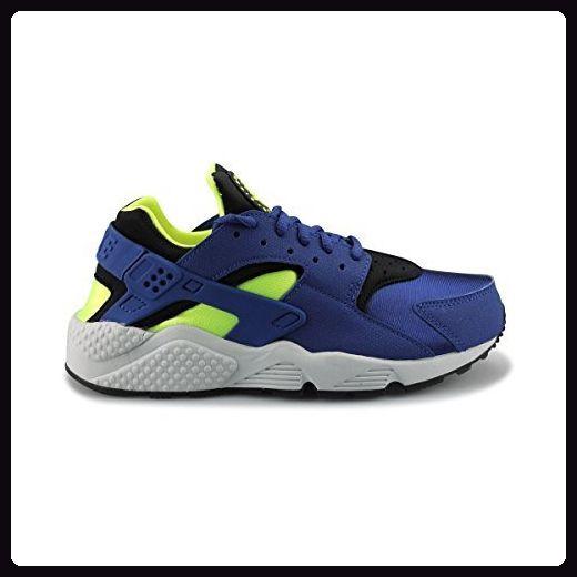 WMNS Nike Air Huarache Run blau, Blau Blau BleuNoir