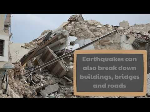 it is time to learn about earthquakes in this video for kids and students of all ages learn about what an earthquake is what they do and how they are