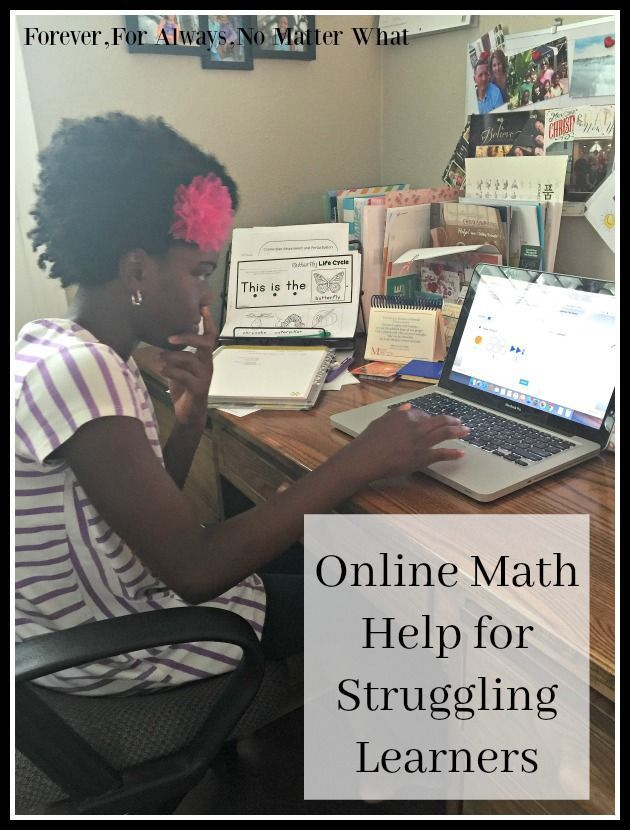 Online Math Help for Struggling Learners | Math, Learn math online ...