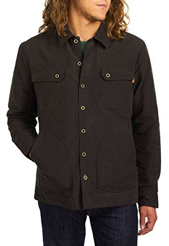 TIMBERLAND Timberland Waxed Canvas Shirt Jacket - Men's. #timberland #cloth #