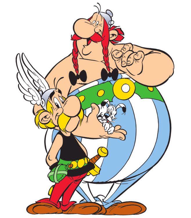 Asterix Obelix Obelix Bd Asterix Vieux Dessins Animes