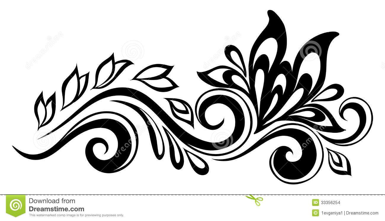 Teenager Post Black And White Flowers Flower Drawing Flower Silhouette