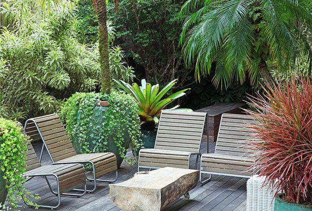 Maresias II Terrazas, Jardinería y Jardines tropicales - jardines en terrazas
