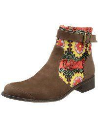 nuevo estilo 1b5e2 df7f5 Amazon.es: Botines planos para mujer: Zapatos y complementos ...