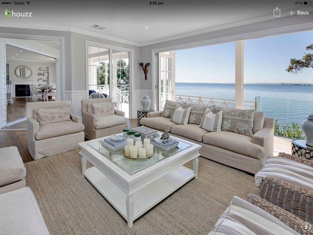 Awesome Coastal Living Room Decor Ideas29 Coastal Style Living Room Coastal Decorating Living Room Beach House Interior