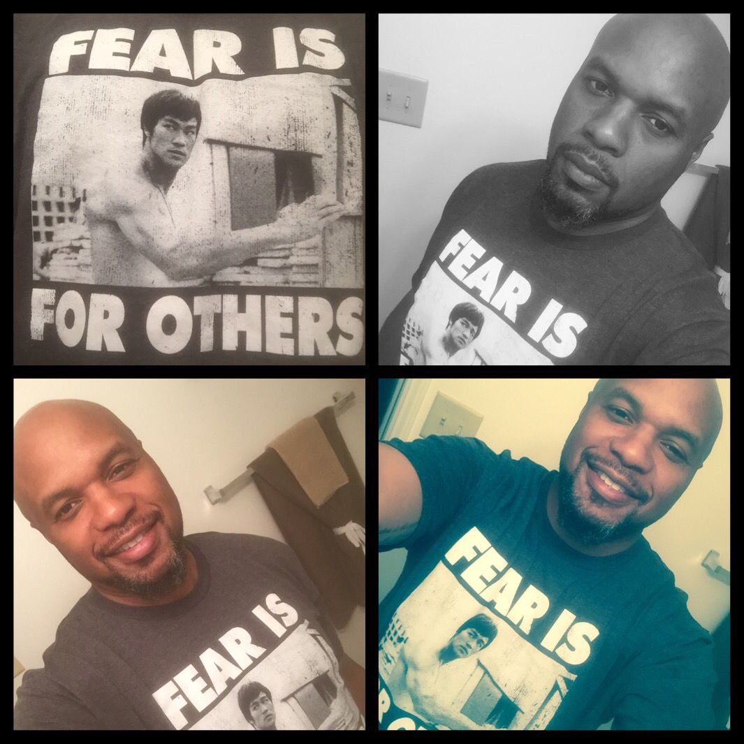 T-shirt of the day! Fear Is For Others!! #TSOTD #brucelee #thedragon #fearisforothers #tshirtassassin