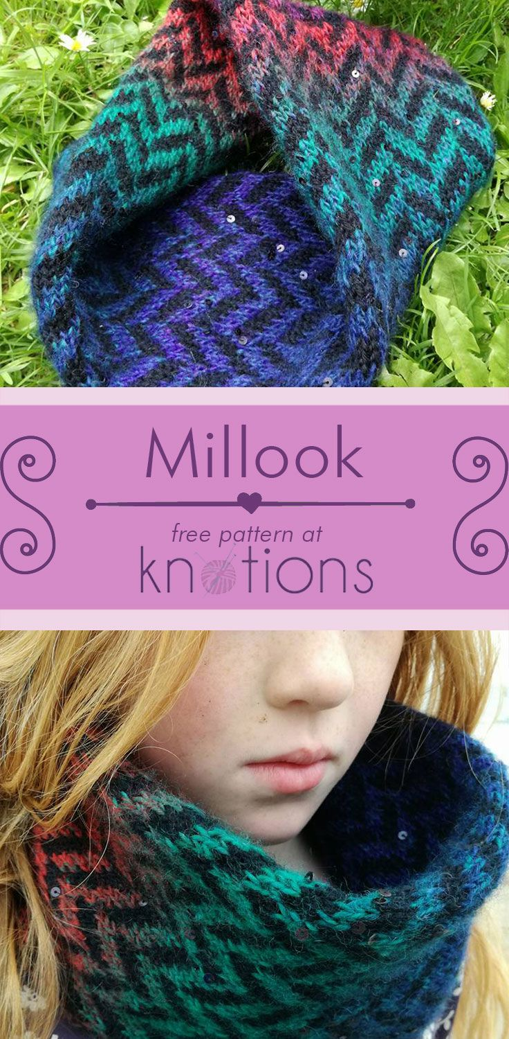Millook Cowl | Knitting patterns and Patterns