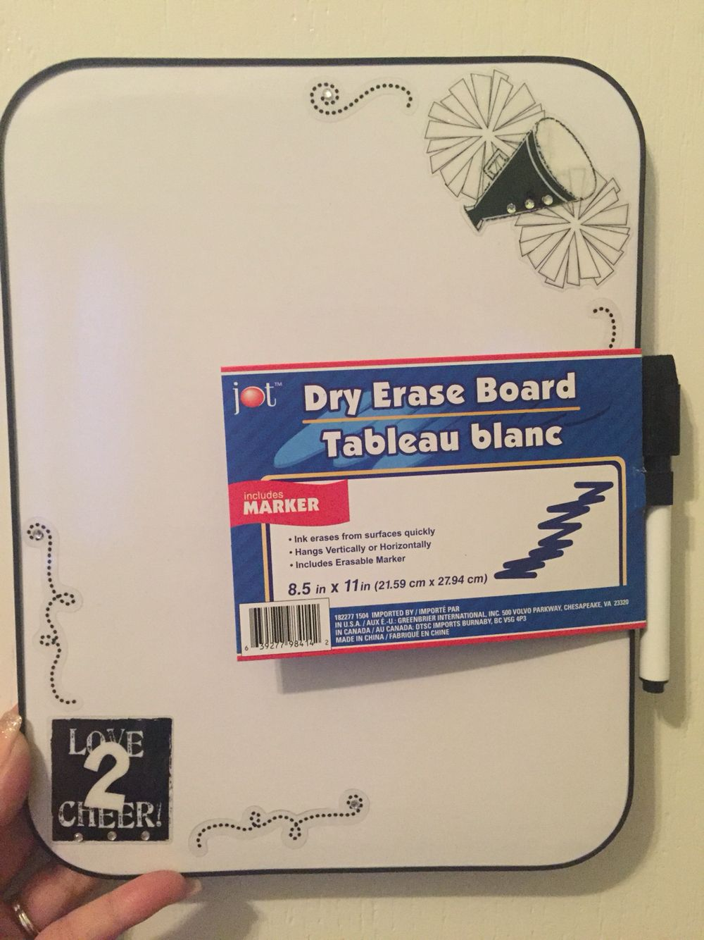 Dry Erase Boards Added Stickers From Hobby Lobby Bought Boards At Local Dollar Tree Great Camp Gifts Dry Erase Board Dry Erase Camping Gifts
