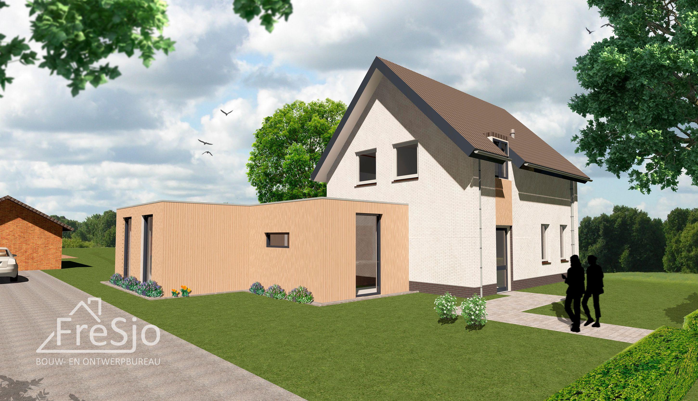 Modernisering En Uitbreiding Vrijstaande Woning In Berghem Door Fresjo In 2020 Kleine Woningen Projecten Nieuwbouw