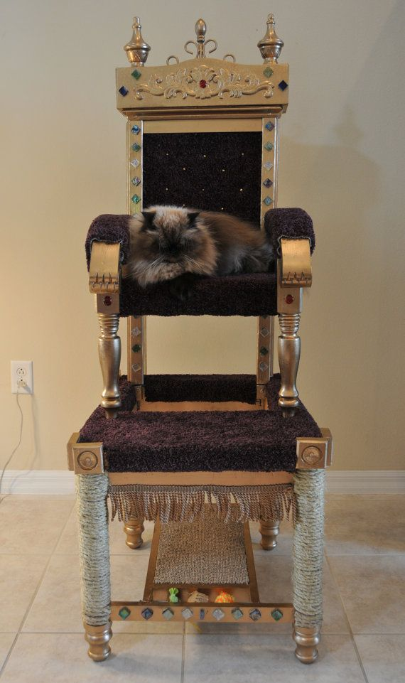 Royal Throne Cat Tower, only $525.