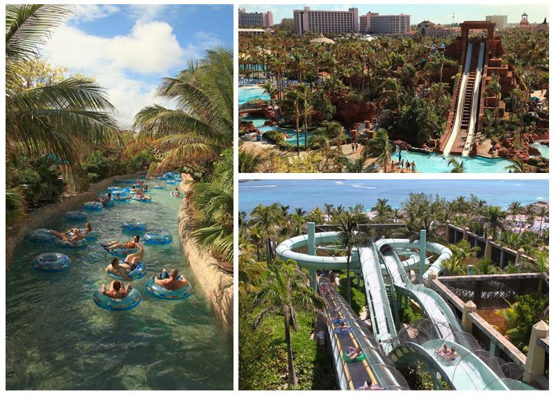 Aquaventure #waterpark at #Atlantis Bahamas.