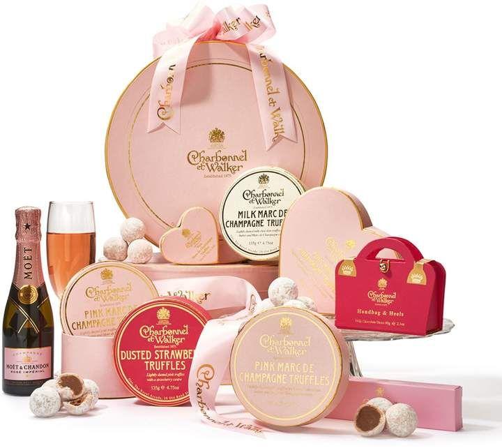 Charbonnel et Walker Champagne Selection Hamper | Charbonnel et walker. Champagne truffles. Chocolate hampers