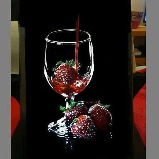 #arts #arts #strawberries #arte #juice #fineart #eyes #colors #lead #pencil #pencilart #artist #arte #رسم #black