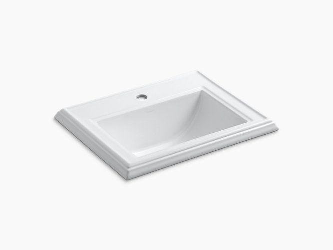 Memoirs Drop-In Sink with Single Hole | K-2241-1 | KOHLER | Rebuild ...