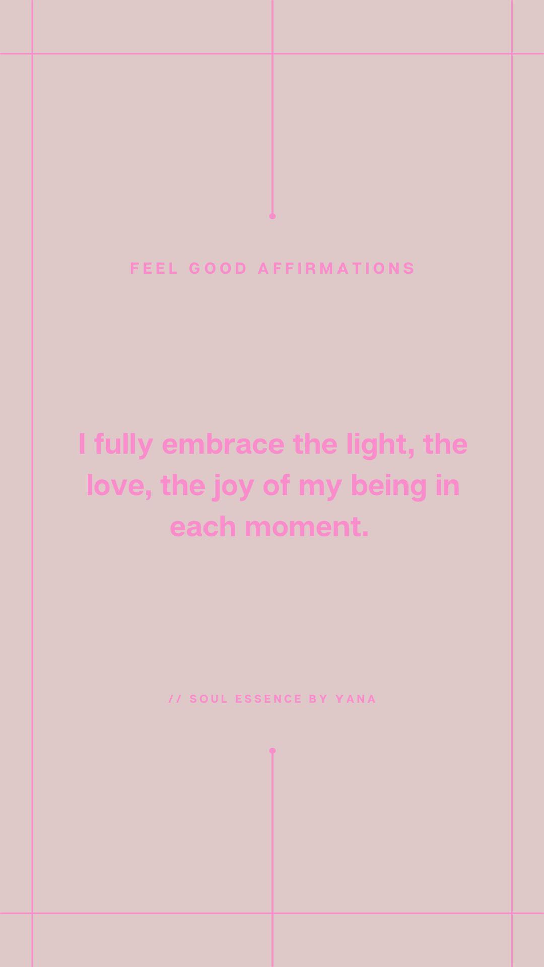feel good affirmations