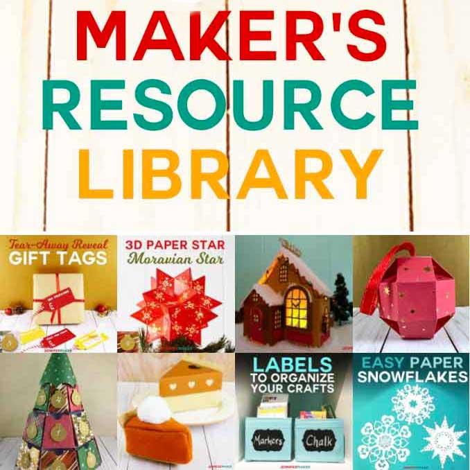 JenniferMaker DIY & Craft File Resource Library Jennifer
