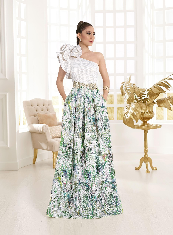Vestidos Largos Estampados Colección 2018 Vertize Gala