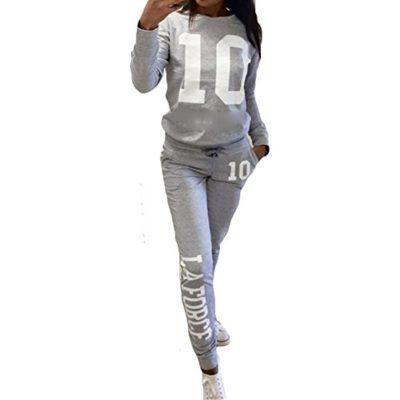 d4aa788cf5eb3 Chandal Mujer Ropa Deportiva Suave – Cómodo Trajes Yoga Fitness Pantalones  Jersey Manga Larga Juego Ropa