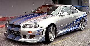 Nissan Skyline GTR R34 +Velozes e +Furiosos