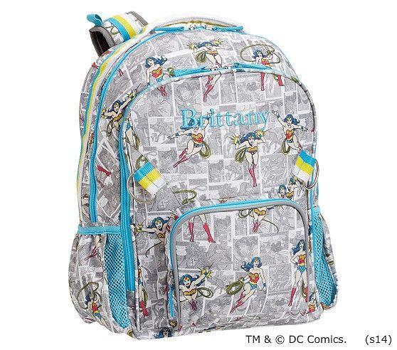 Wonder Woman Backpacks Backpacks Cool Backpacks Tween