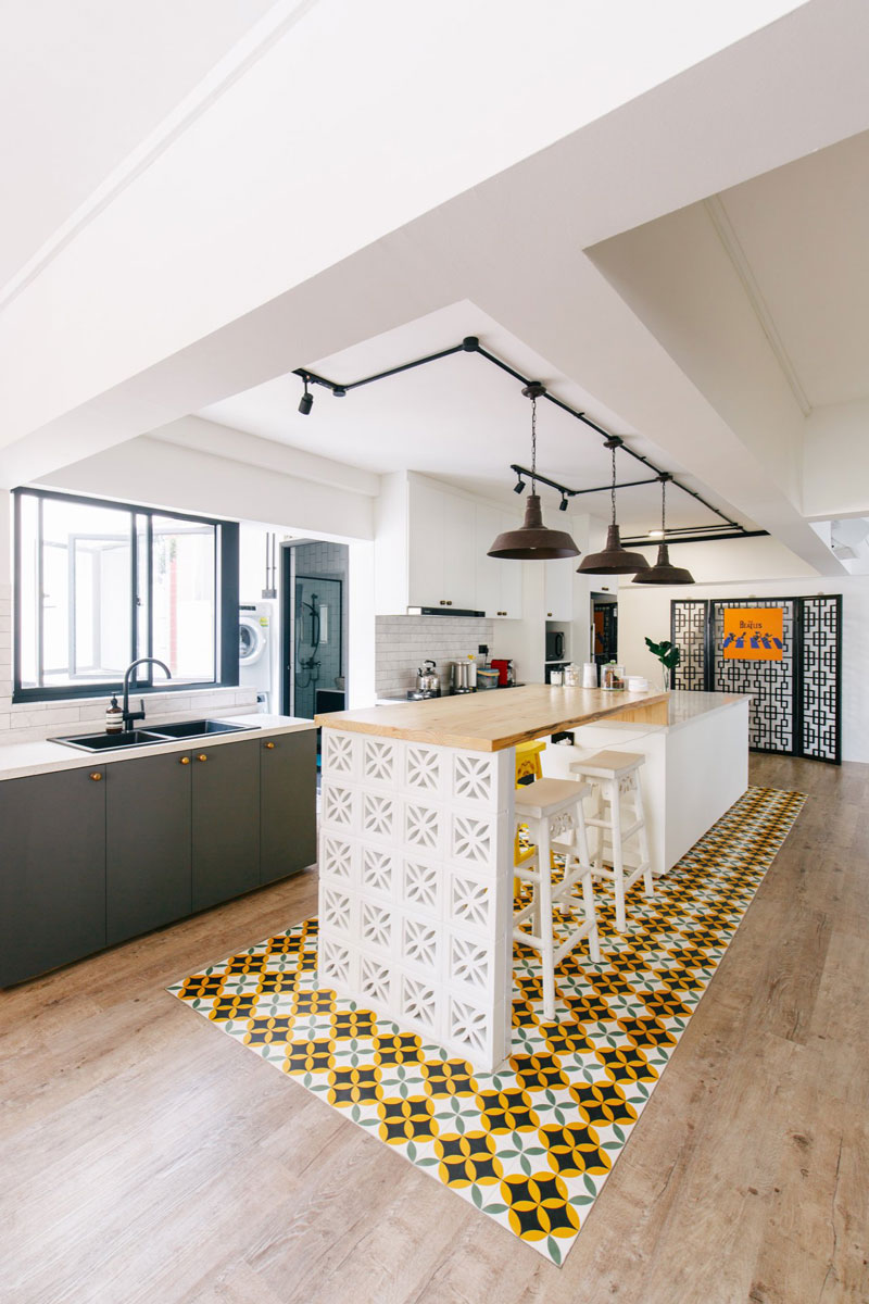 9 Ways To Combine Your Kitchen Island And Dining Table In Style