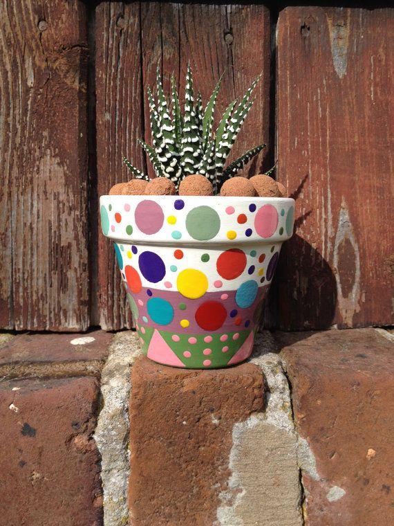 small planter for cactus succulents ceramics pinterest petits pots de fleurs pot jardin. Black Bedroom Furniture Sets. Home Design Ideas
