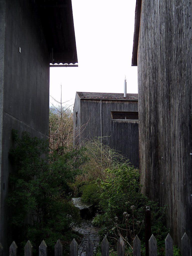Zumthor Atelierhaus, Haldenstein, Switzerland, by Peter