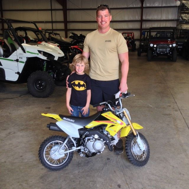 Thanks To Nolan And Cody Mccarra From Quitman Ms For Getting A 2015 Suzuki Dr Z 70 At Hattiesburg Cycles Hattiesburg Quitman Suzuki