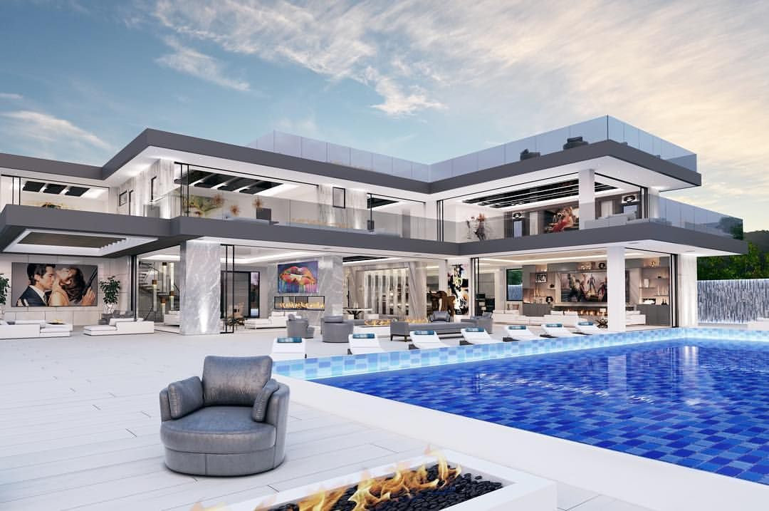 Mansions Luxury Houses Houses Instagram Posts Videos Stories On Webstaqram Com Built By Ramtin Ray Modern Mansion Mansions Design Your Dream House