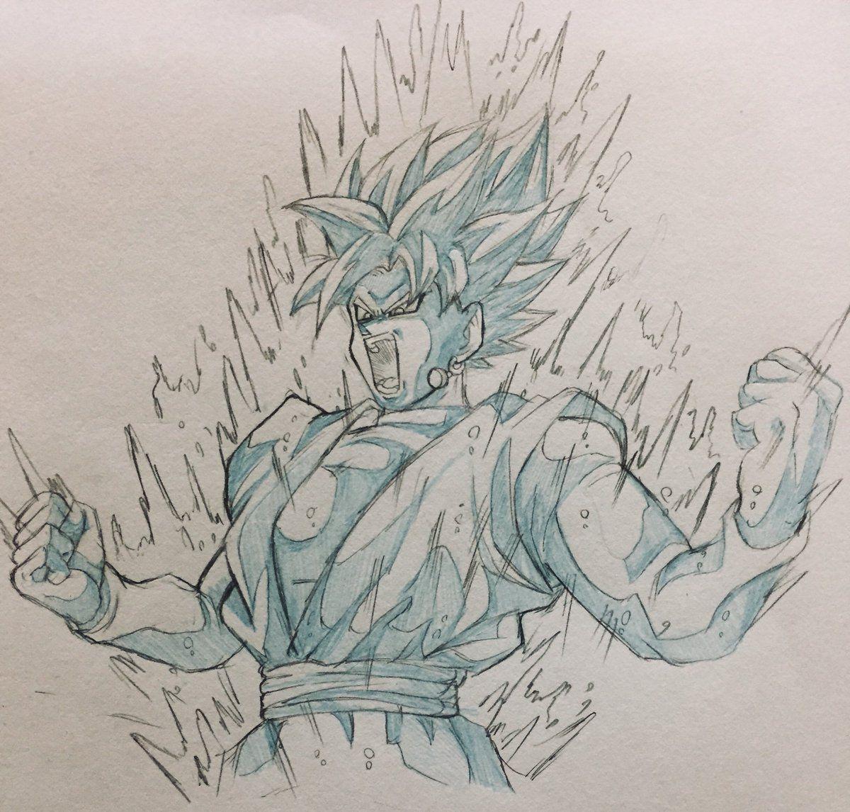 Angry SSR Goku Black | yo | Pinterest | Dragon ball, Dibujos de ...