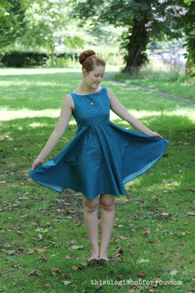 V1102 John Lewis Sewing Bee Dress by thisblogisnotforyou.com ...