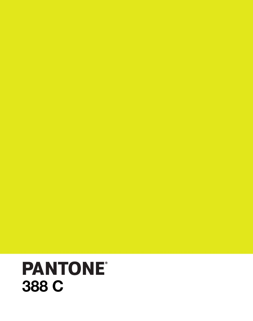 PANTONE 388 C / color / yellow-green / design | P A N T O ...